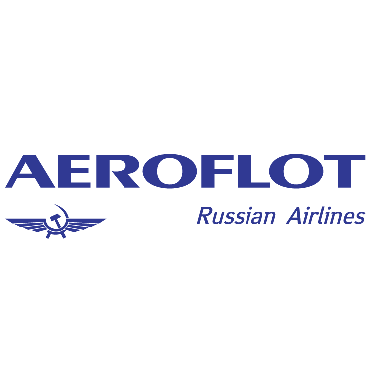free vector Aeroflot russian airlines 0
