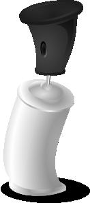 free vector Aerosol Bottle Cartoon clip art