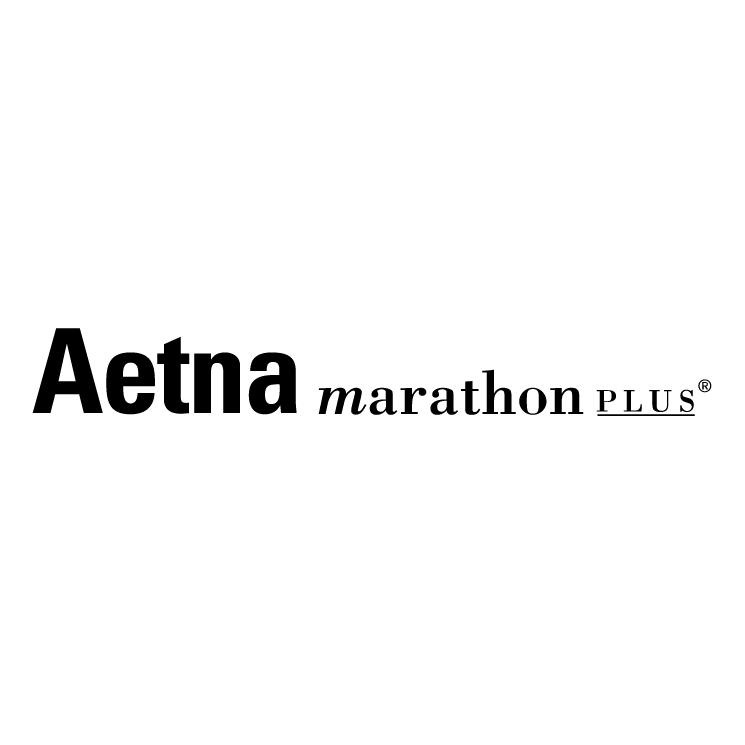 free vector Aetna marathon plus 0