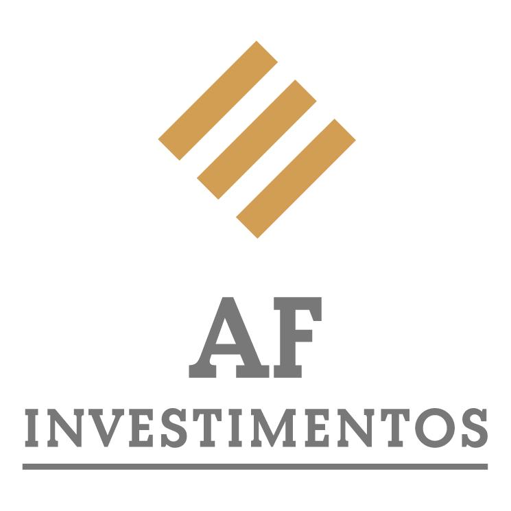 free vector Af investimentos