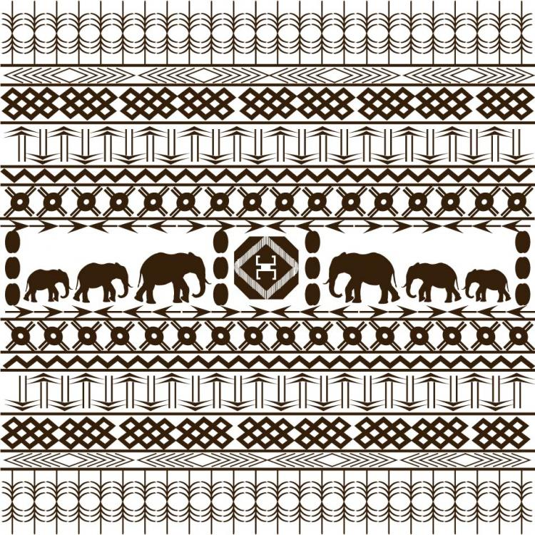 free vector African graphic design background 02 vector