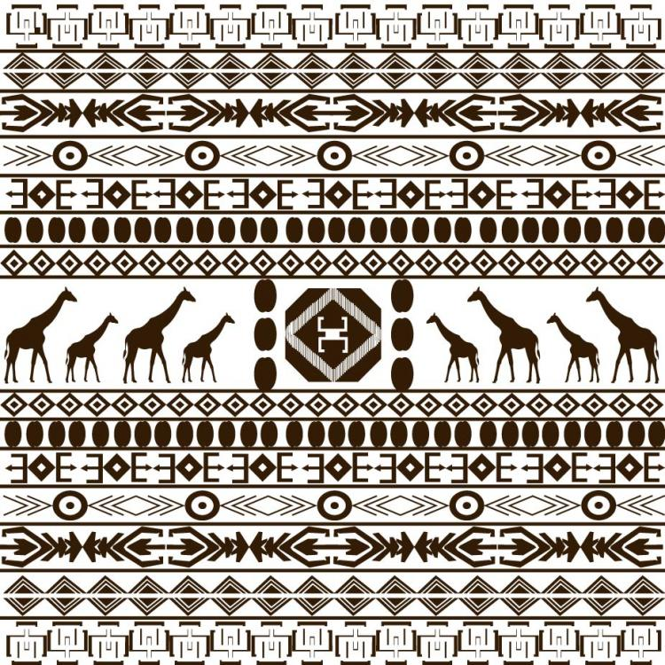 free vector African graphic design background 03 vector