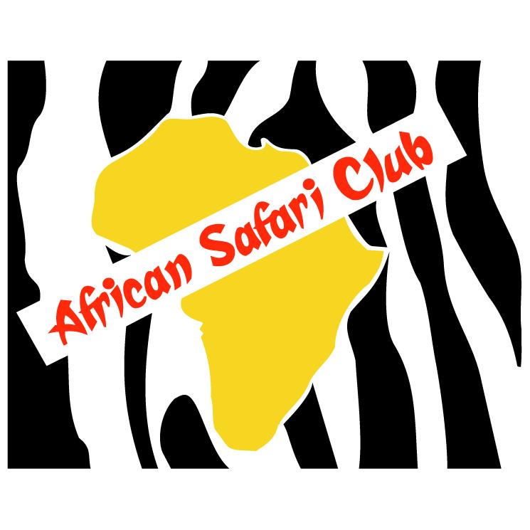 free vector African safari club