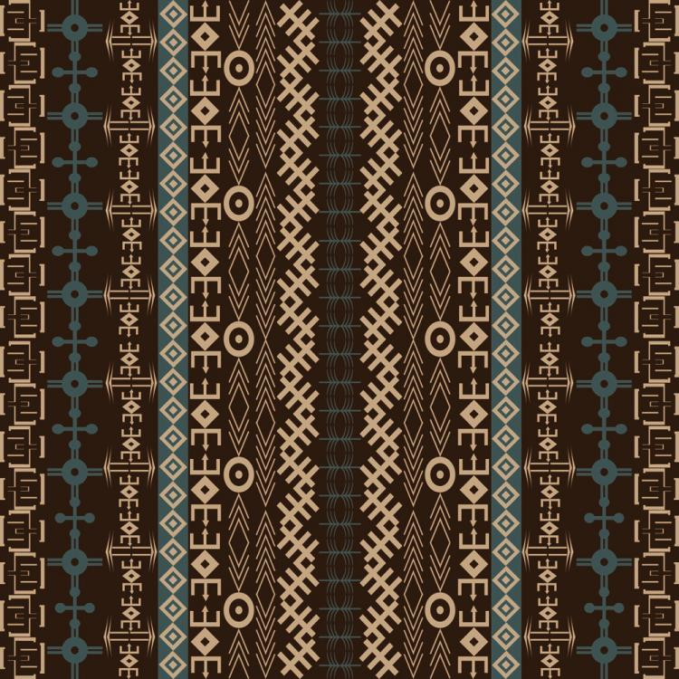free vector African Style Vector Pattern