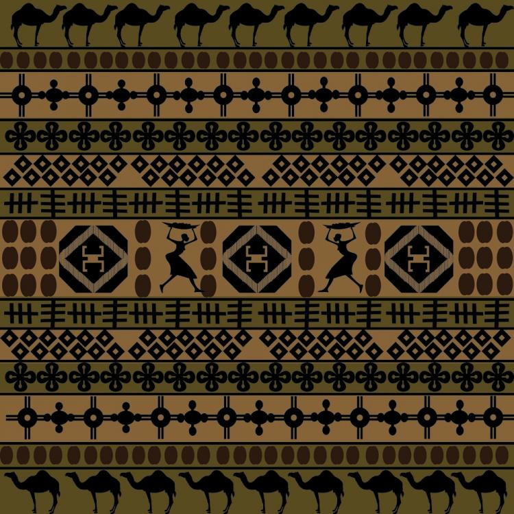 free vector African traditional pattern background 02 vector
