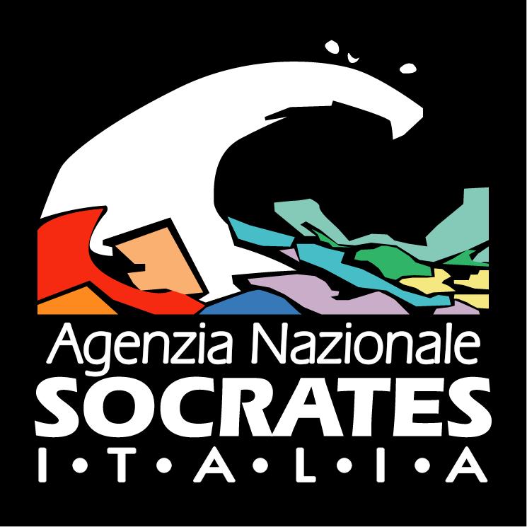 free vector Agenzia nazionale socrates italia
