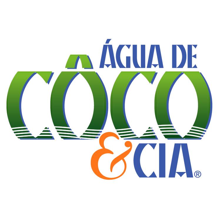free vector Agua de coco cia