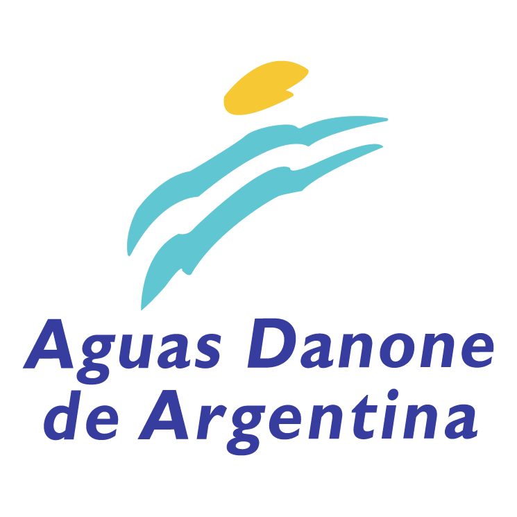 free vector Aguas danone de argentina