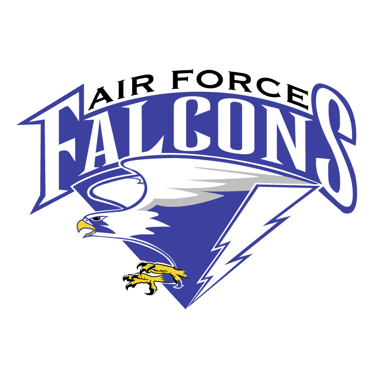 free vector Air force falcons