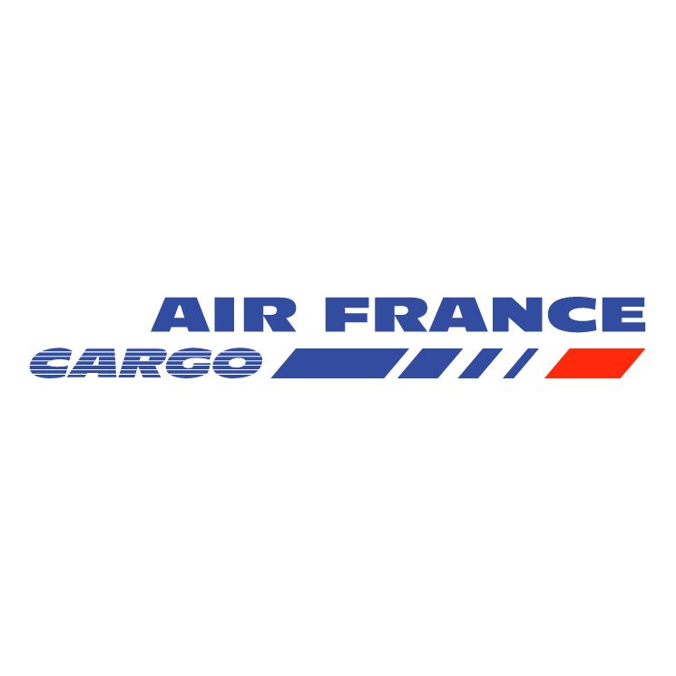 free vector Air france cargo
