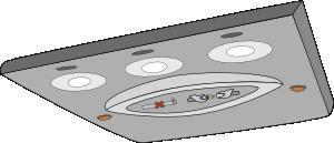 free vector Aircraft Reading Light Unit clip art