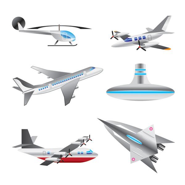 free vector Aircraft vector