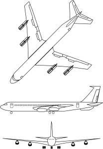 free vector Airplane Outline clip art