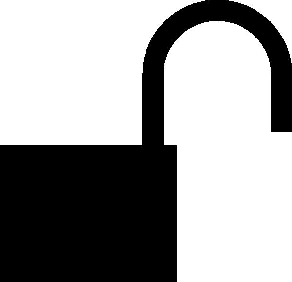 free vector Aj Padlock Silhouette clip art