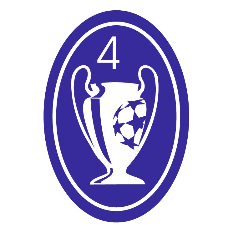 Champions League Vector: Ajax Champions Badge Free Vector / 4Vector