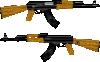 free vector Ak Rifle clip art