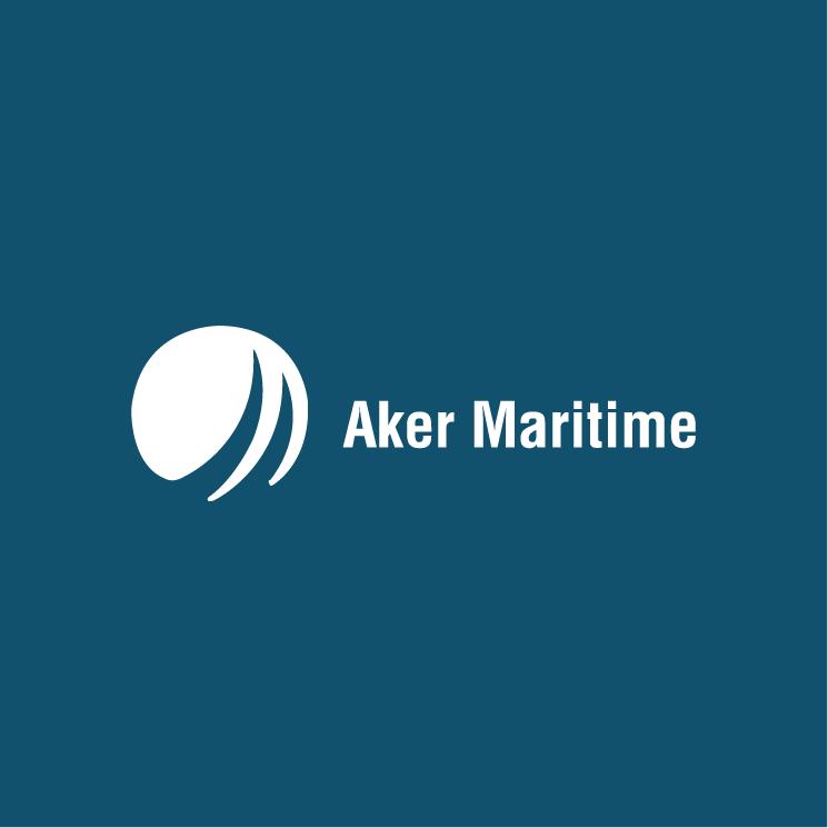 free vector Aker maritime