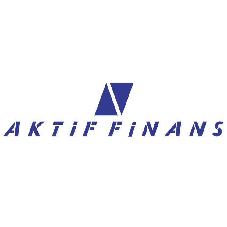 free vector Aktif finans