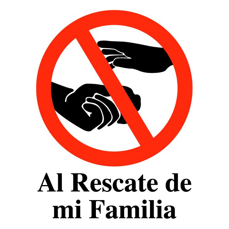free vector Al rescate de mi familia