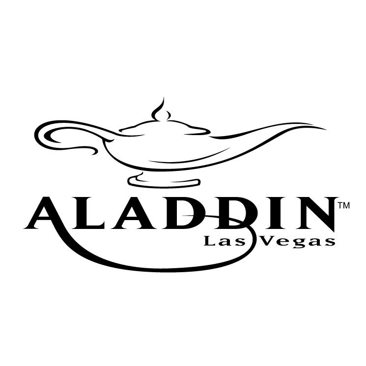 free vector Aladdin las vegas