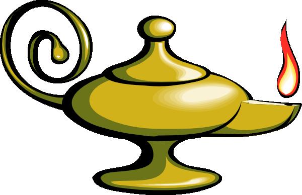 free vector Aladin Lamp clip art