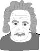 free vector Albert Einstein Cartoon clip art
