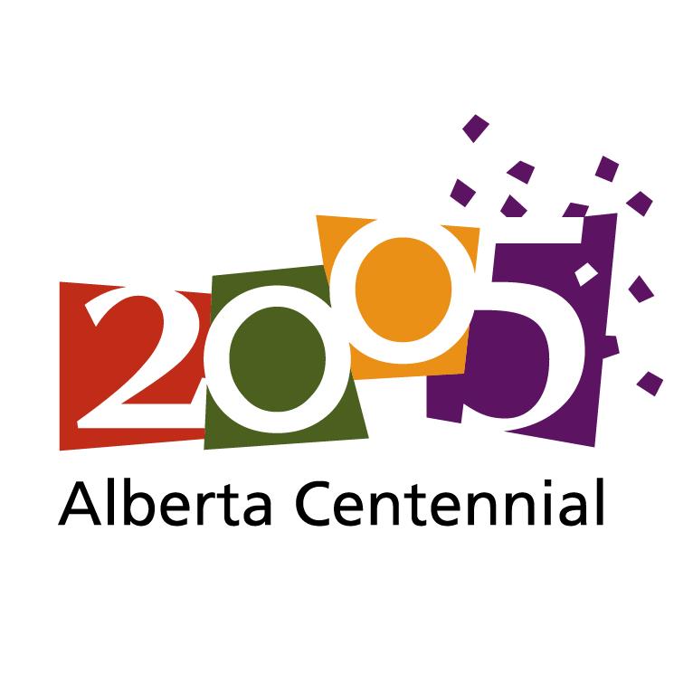 free vector Alberta centennial 2005 0