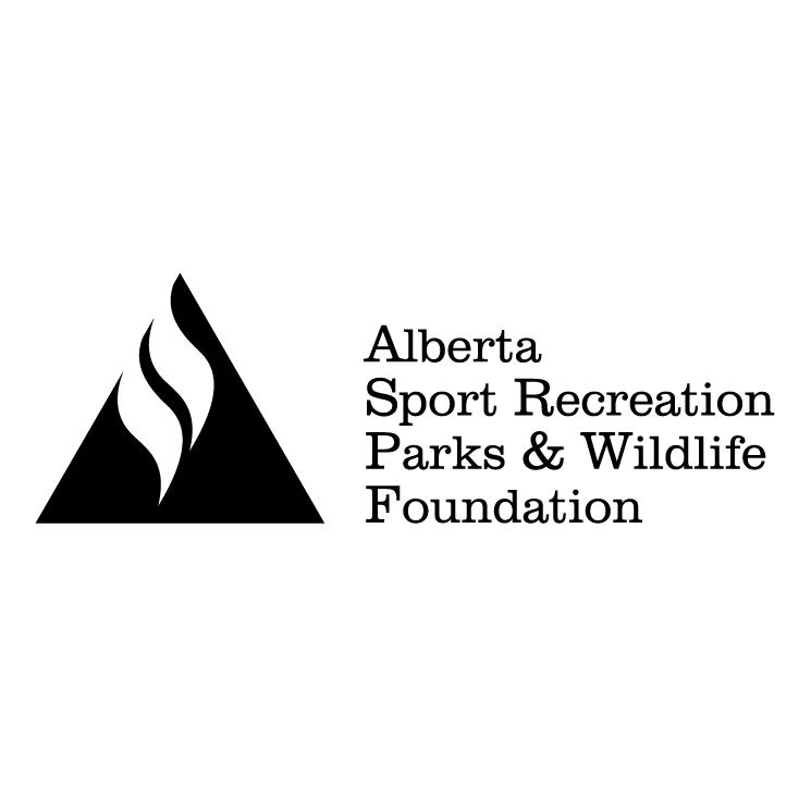 free vector Alberta sport recreation parks and wildlife foundation