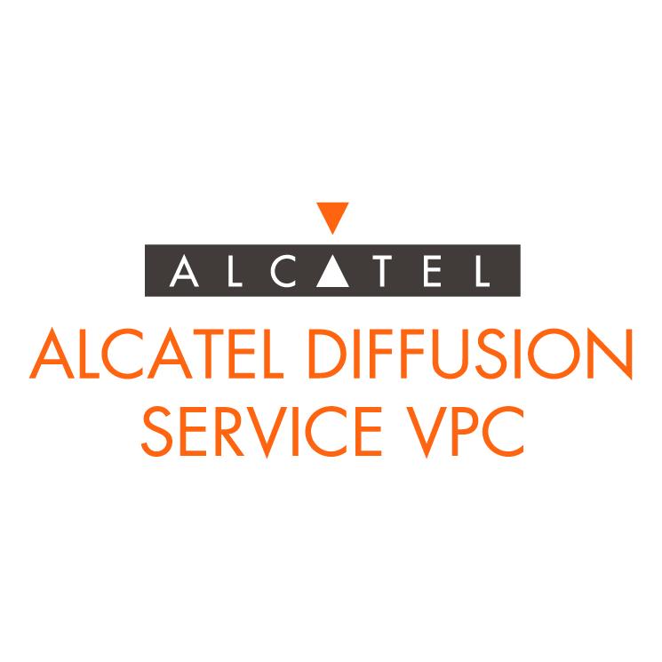 free vector Alcatel diffusion service vpc
