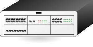 free vector Alcatel Oxo Telephone Switch clip art