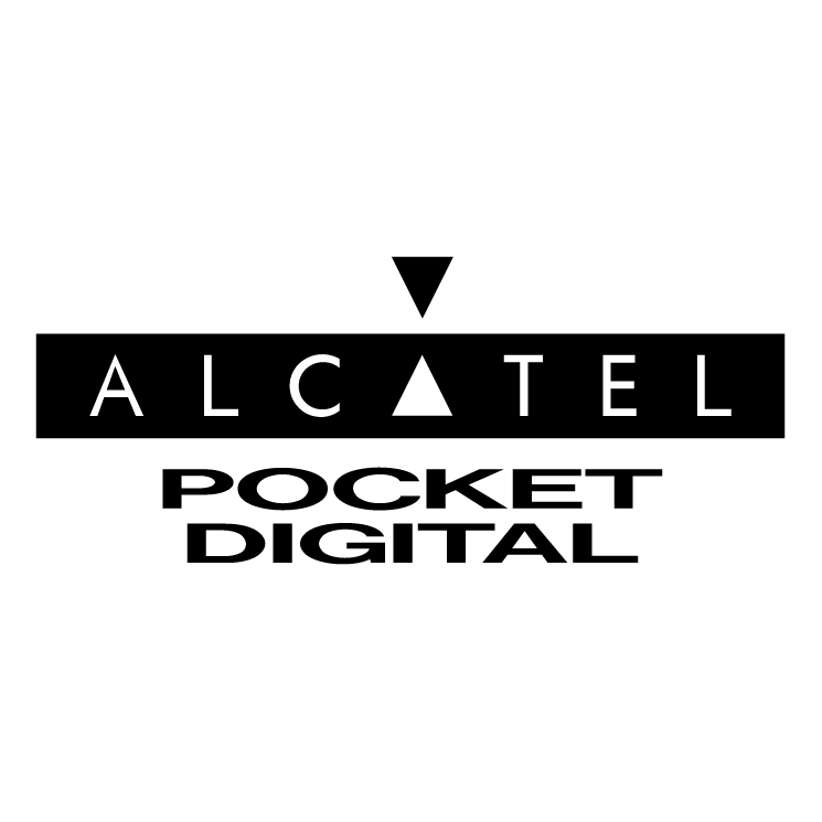 free vector Alcatel pocket digital