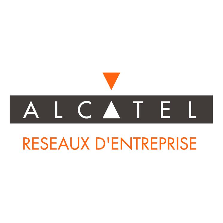 free vector Alcatel reseaux dentreprise