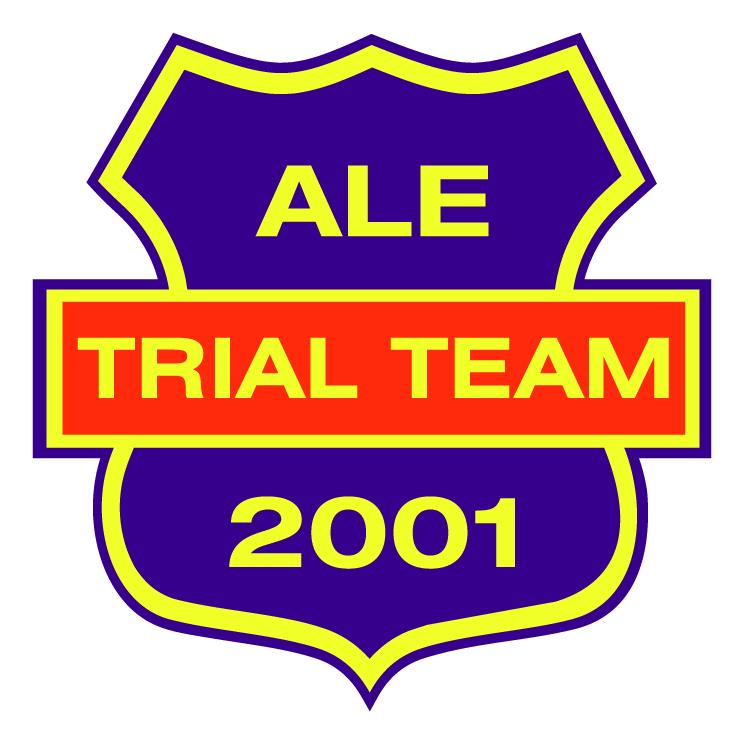 free vector Ale trial team