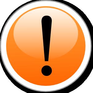 free vector Alert clip art