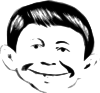 free vector Alfred E Neuman Well Not Quite clip art