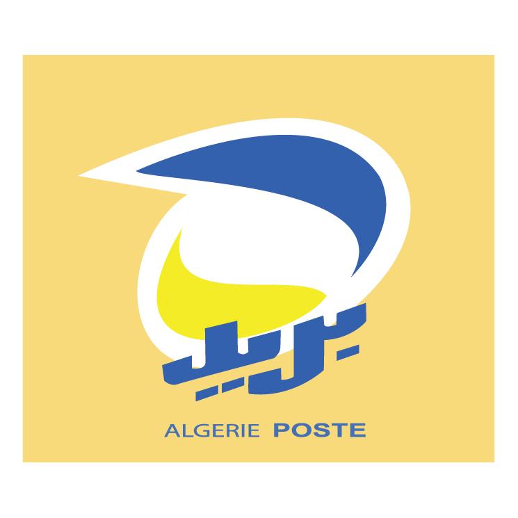 free vector Algerie poste