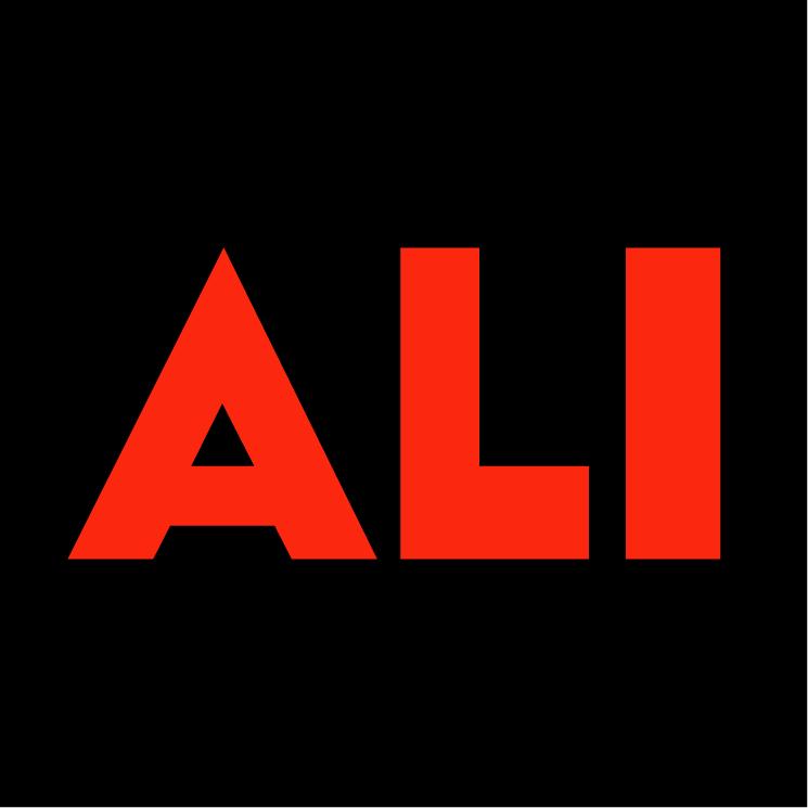 free vector Ali the movie