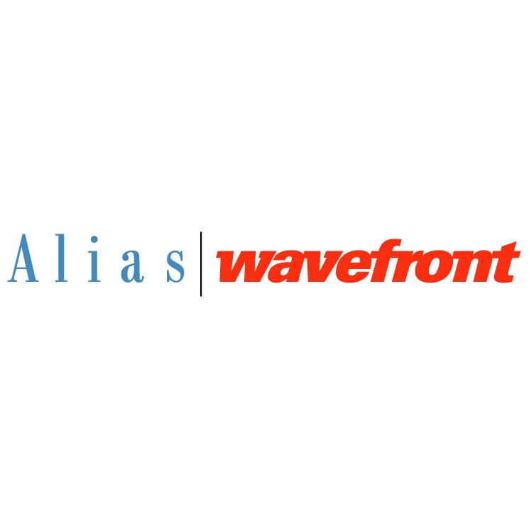 free vector Alias wavefront