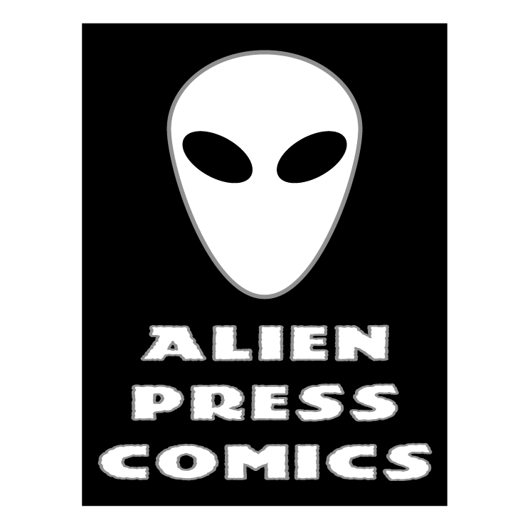 free vector Alien press comics