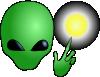 free vector Alien Wizard clip art