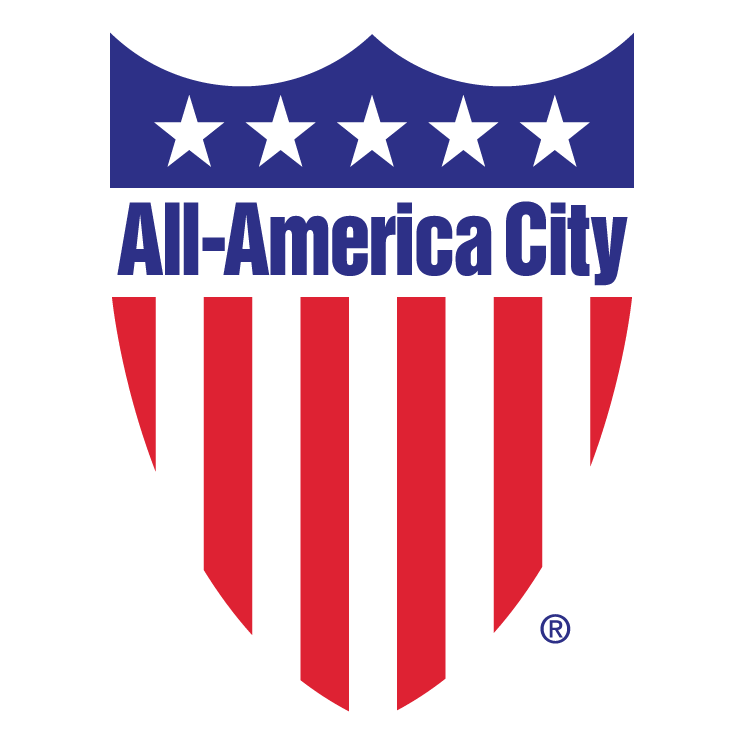 free vector All america city