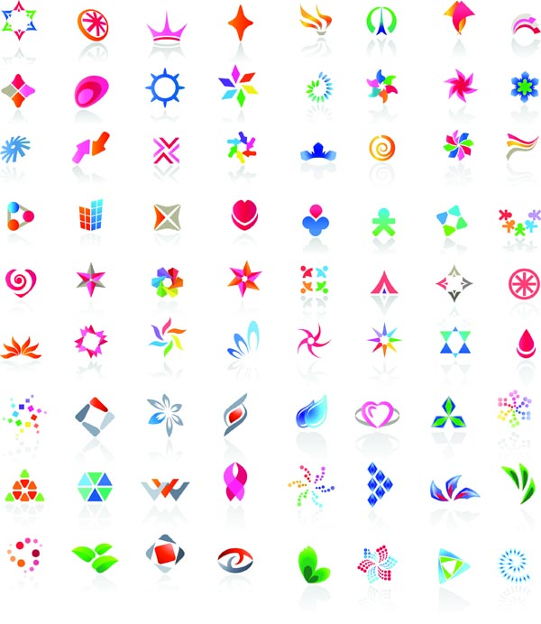 free vector All kinds of beautiful flags vector