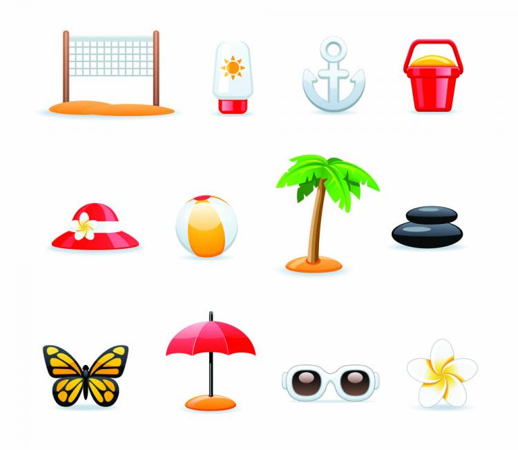 free vector All kinds of cartoon icon 05 vector