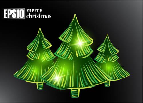 All Kinds Of Christmas Tree 25059 Free Ai Download 4