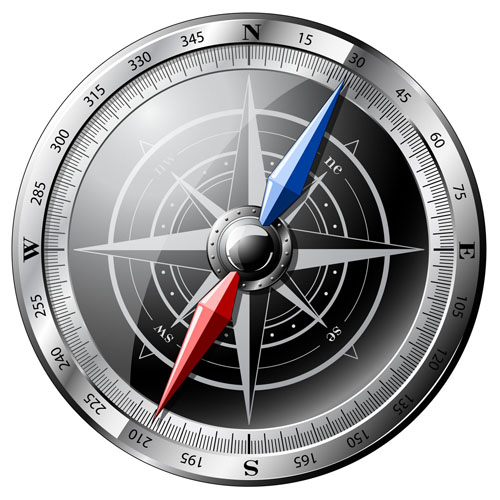 free vector All kinds of compass vector