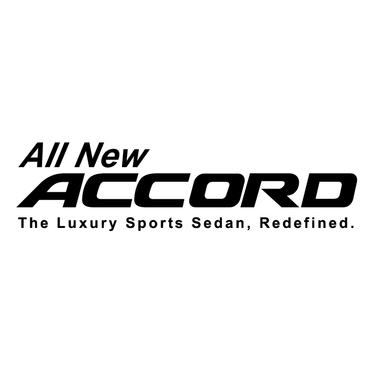 free vector All new accord