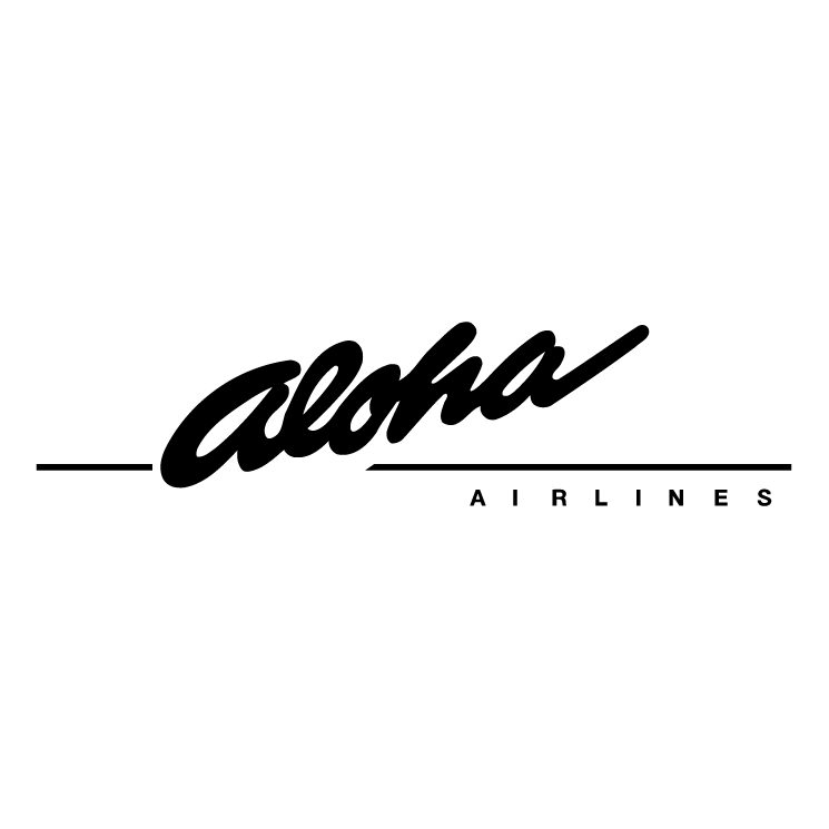 free vector Aloha airlines 0