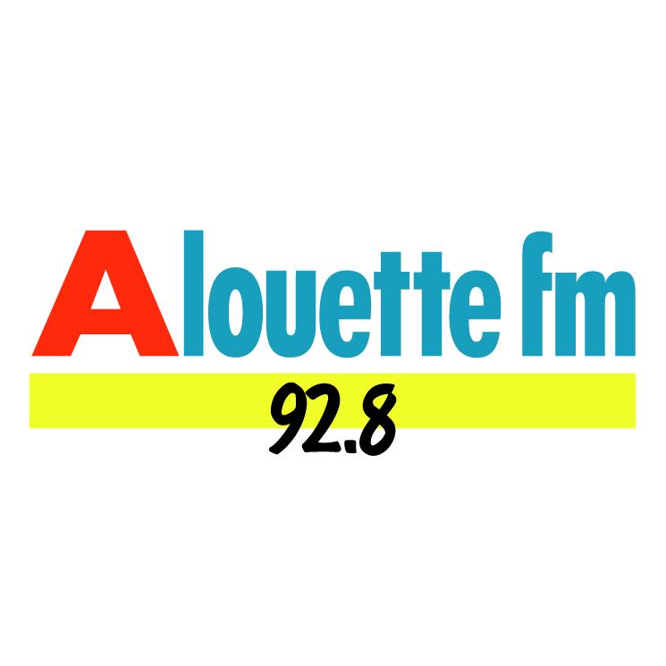 free vector Alouette fm