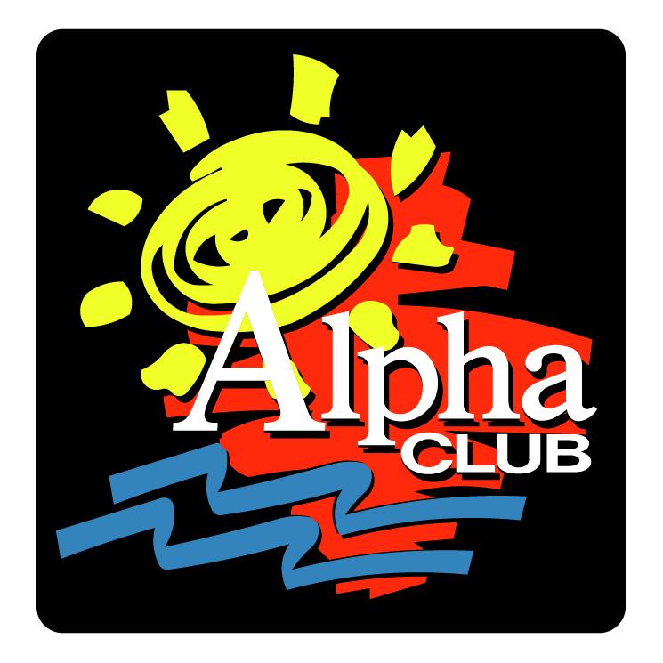 free vector Alpha club 0