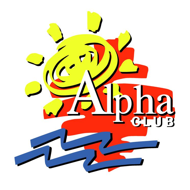 free vector Alpha club